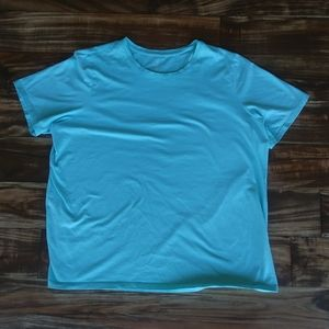 land's end blue shirt size 1x